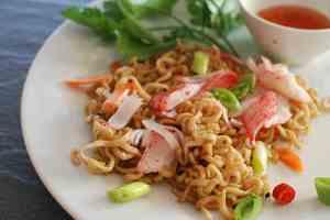 Prøv også LobNobs med eggnudler, grønnsaker og wasabikrydder.