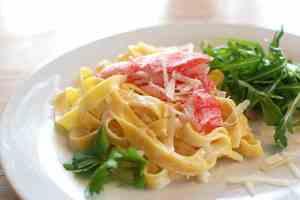 Prøv også Pasta med LobNobs og parmesan.