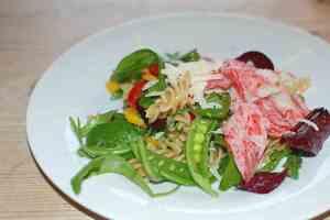 Prøv også Pasta med LobNobs, grønnsaker og parmesan.