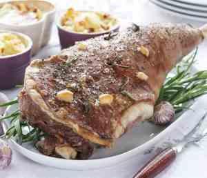 Prøv også Lammestek med hvitløk og rosmarin.