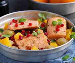 Prøv også Laks i form med creme fraiche og appelsin.