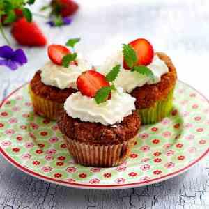Prøv også Jordbærmuffins 2.