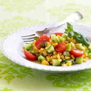 Prøv også Tomatsalat med mais.