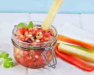Prøv også Hjemmelaget tomatsalsa.