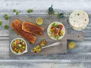 Prøv også Grillet laks med frisk salsa.