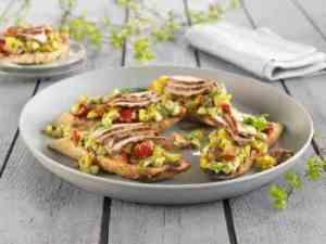 Prøv også Grillet bruschetta med svinefilet.