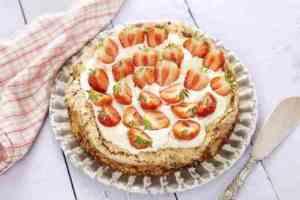 Prøv også Mandelbunn med jordbær.