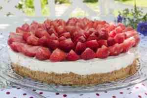 Prøv også Ostekake med jordbær.