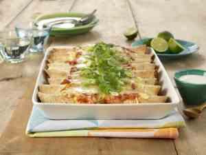 Prøv også Enchiladas med kylling.