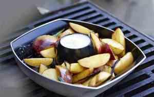 Prøv også Grillede nektariner med rosmarin og hvit sjokolade.