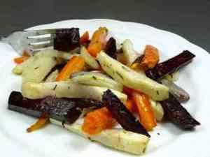 Prøv også Ovnsbakte grønnsaker med rødbet.