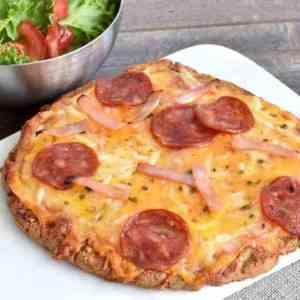 Prøv også Glutenfri pizzabunn med sunflour.