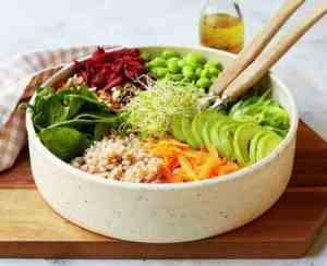 Prøv også Bete, korn og avokadosalat.
