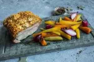 Prøv også Svinekam med ovnsbakte gulrøtter.