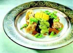 Prøv også Mangofylte kyllingrulader i chutneysaus.