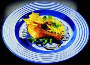Prøv også Grillede kyllinglår med avokadosalat.