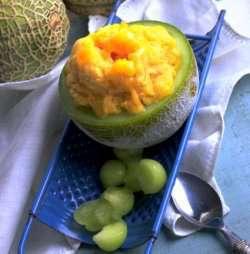 Prøv også Melonsorbet.