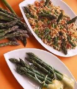 Prøv også Salat med asparges og vinkokte grønnsaker.