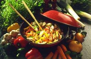 Prøv også God, grønn wokpanne.