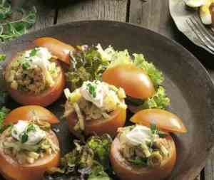 Prøv også Bifftomater med tunfisksalat.