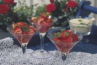 Prøv også Marinerte jordbær.