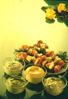 Prøv også Dressinger med yoghurt og lettrømme.