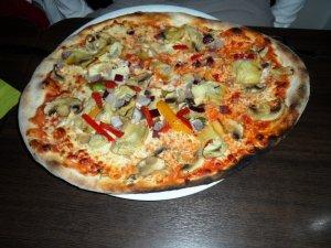 Grønnsakspizza 2 oppskrift.