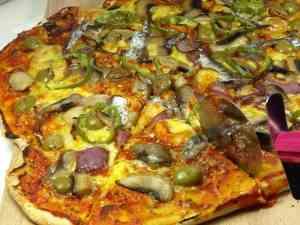 Prøv også Løkpizza med ansjos.