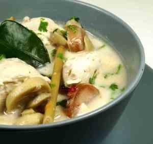 Prøv også Kyllingsuppe med kokosmelk 2.