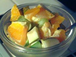Prøv også Fruktsalat med is.