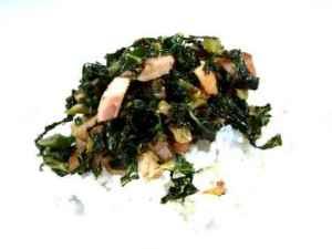 Prøv også Spinatsalat med røkt kjøtt.