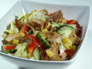 Prøv også Kyllingsalat med dressing.