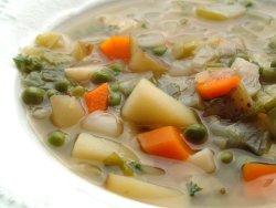 Prøv også Klar grønnsaksuppe.
