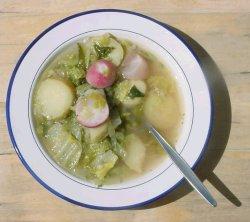 Prøv også Sommerfrisk kålsuppe.