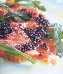 Prøv også Kaviarmarinert laks med urtekrem.