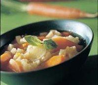 Grønnsaksuppe 1 oppskrift.