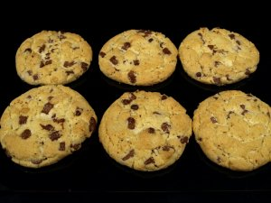 Prøv også Amerikanske cookies.