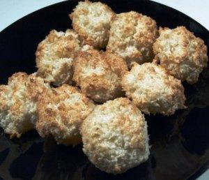 Prøv også Kokosmakroner uten hvetemel.