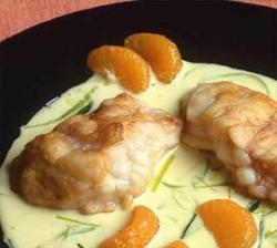 Prøv også Sprøstekt breiflabb med mandarinsaus.