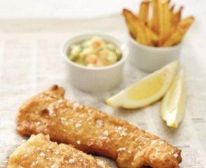 Prøv også Fisk & chips.