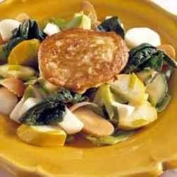 Fiskekaker med grønnsakblanding oppskrift.