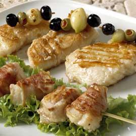 Prøv også Grillspyd med klippfisk.