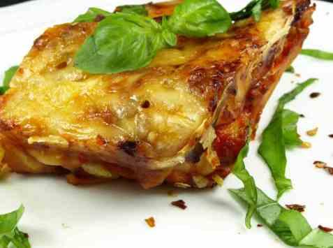 Dagens oppskrift er Lasagne 2.