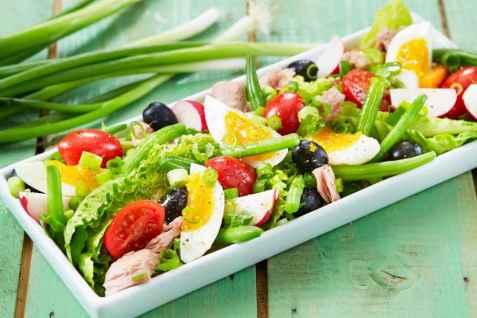 Salat Nicoise oppskrift.