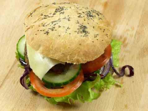 Dagens oppskrift er Hamburgere.