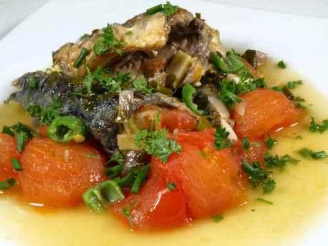 Makrell som i Provence oppskrift.