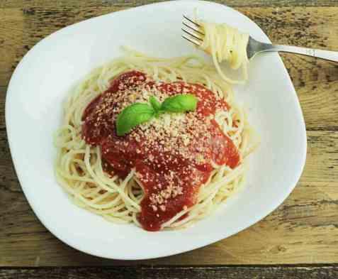 Kjøttdeigsaus(spagettisaus) oppskrift.