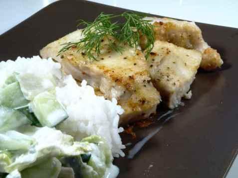 Seifileter eller - skiver stekt i panne oppskrift.