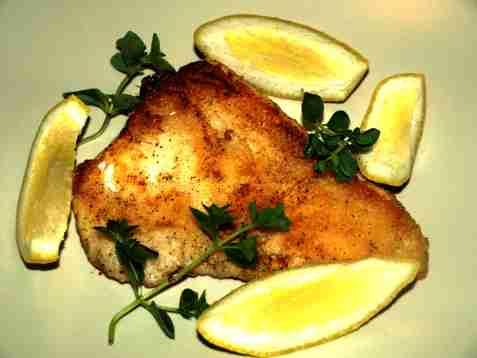 Dagens oppskrift er Torsk med sitron- og persillesjy.