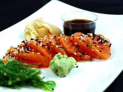Sashimi (Sushi) oppskrift.